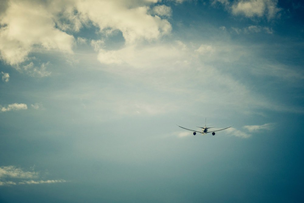 vuelos comerciales