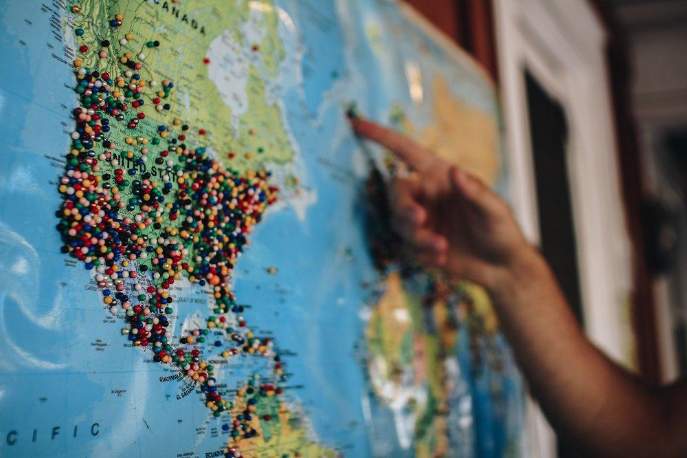 Planificar rutas de viajes