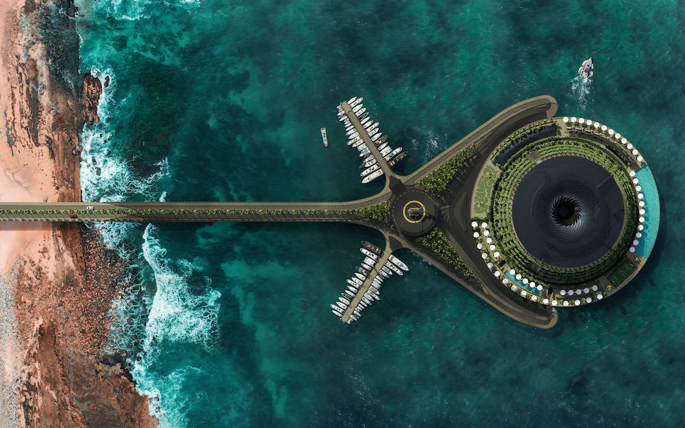 eco-floating hotel qatar